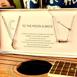 Gemma Simone To the Moon and Back necklace pair